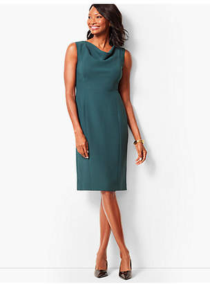 Talbots Seasonless Crepe Sheath Dress