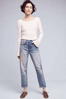 Levi's Wedgie Icon High-Rise Jeans $158 thestylecure.com