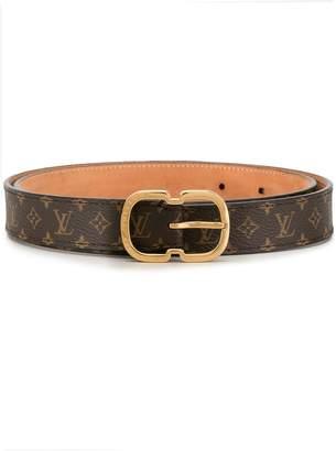 Louis Vuitton Pre-Owned monogram double buckle belt