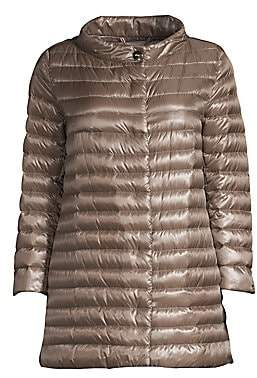 Herno Women's Three-Quarter Sleeve Puffer Jacket