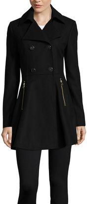 LIZ CLAIBORNE Liz Claiborne Ladylike Wool-Blend Coat - Tall $114.99 thestylecure.com