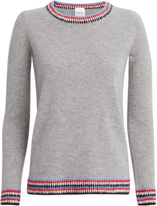 Madeleine Thompson Composa Grey Sweater