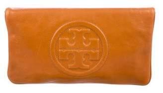 Tory Burch Leather Fold Over Shoulder Bag
