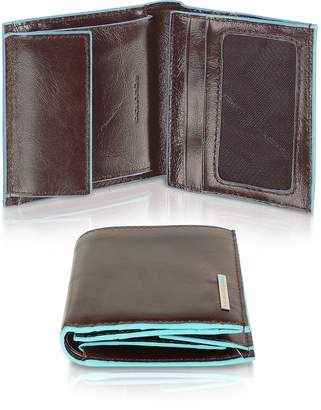 Piquadro Blue Square-Men's Leather ID Wallet