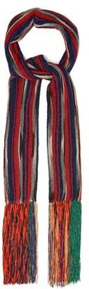 Missoni Pleated Striped Scarf - Womens - Multi