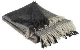 Brunello Cucinelli Fringed Alpaca & Wool Blend Blanket