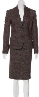 Cinzia Rocca Wool Skirt Suit