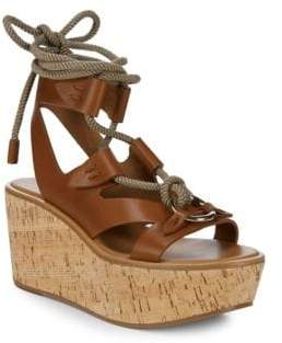 Frye Dahlia Robe Wedge Sandals