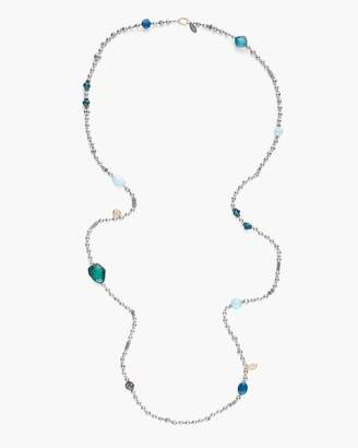 Chico's Chicos Teal Stone Single-Strand Necklace