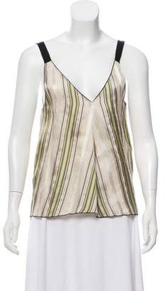 Giada Forte 2018 Striped Top w/ Tags