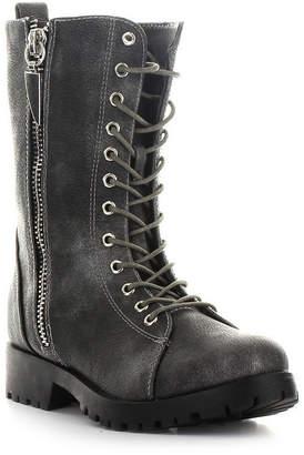 Seven7 SEVEN 7 Seven 7 Womens Mr. Zipper Combat Zip Boots