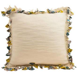 Blissliving Home Samira Fringe Throw Pillow
