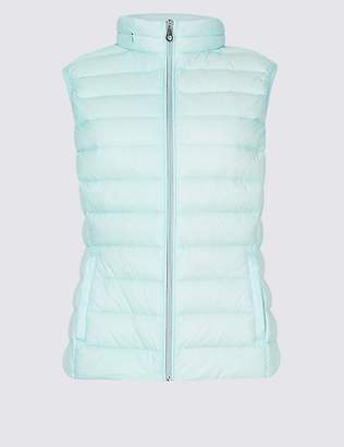 M&S Collection Lightweight Down & Feather Gilet with StormwearTM