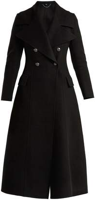 Burberry Oversized-lapel double-breasted wool coat