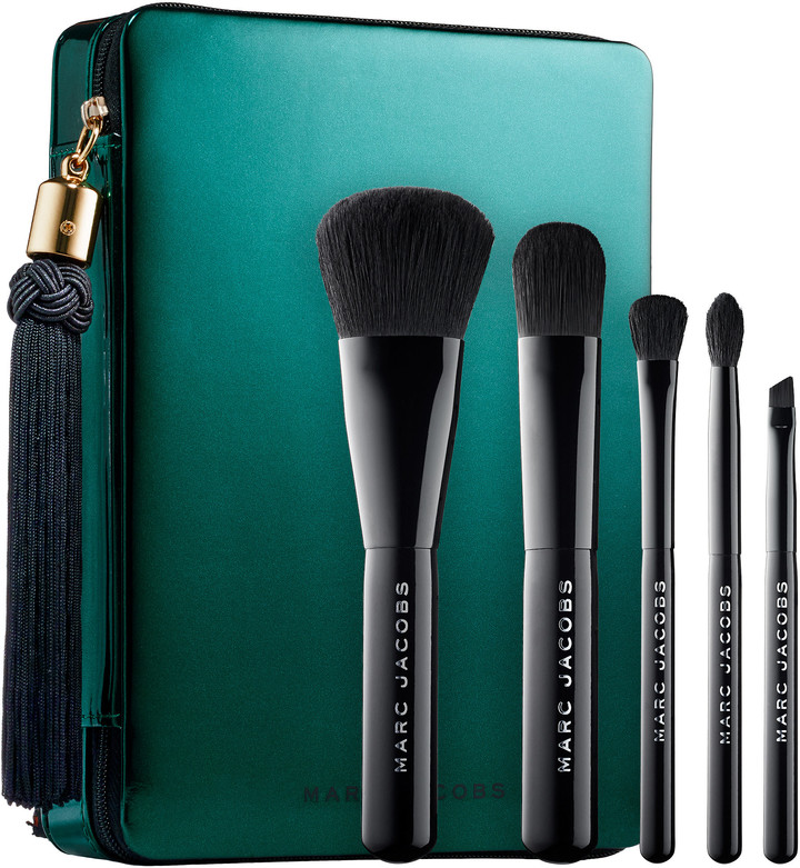 Marc Jacobs Beauty - Your Place Or Mine? Five-Piece Travel Brush Collection