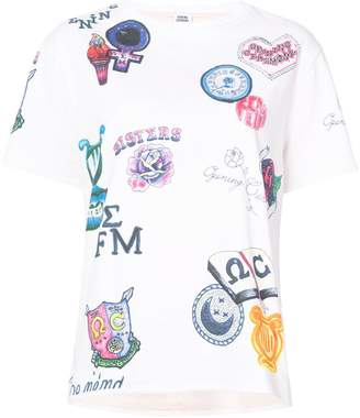 Opening Ceremony all-over print T-shirt