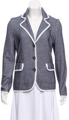 Lucien Pellat-Finet Notch-Lapel Knit Blazer