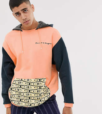 Heart N Dagger cut and sew hoodie with branded pocket