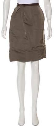 Lanvin Silk Pencil Skirt Silk Pencil Skirt