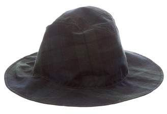 b77a9a7f7ac Pre-Owned at TheRealReal · Maison Michel Enrico Plaid Hat w  Tags