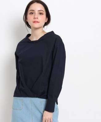 Dessin (デッサン) - Dessin 【洗える】裾タックタイプライターシャツ