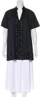Antik Batik Linen-Blend Tunic