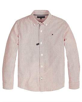 Tommy Hilfiger Oxford Stripe L/S Shirt (Boys 3-7 Years)