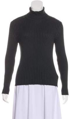 Prada Sport Wool Turtleneck Top