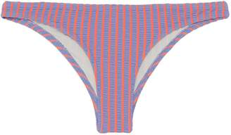Solid & Striped 'The Paloma' stripe seersucker bikini bottoms