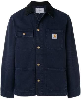 Carhartt Heritage contrast collar denim jacket
