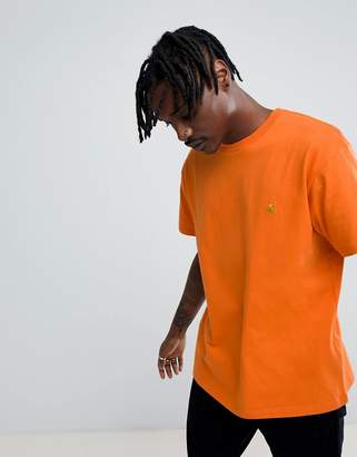 Carhartt WIP Chase T-Shirt In Orange