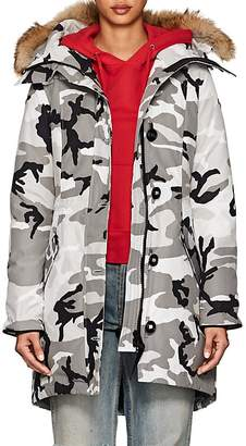 Canada Goose Women's Rossclair Camouflage Tech-Faille Parka