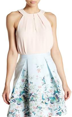 Ted Baker Beaula Sleeveless Keyhole Blouse