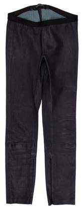 ThePerfext Leather Stretch Pants
