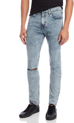 Levi's Stonewashed 501 Skinny Jeans