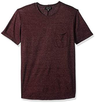 Velvet by Graham & Spencer Men's CID Striped Short Sleeve Tee