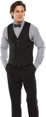 Chaps Men's Performance Classic-Fit Wool-Blend Comfort Stretch Suit Vest