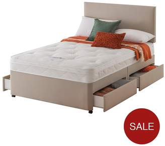 Silentnight Layezee Made By Fenner Bonnel Ortho Divan Bed With Half-Price Headboard Offer