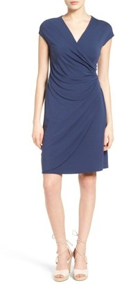 Women's Tommy Bahama Tambour Side Gathered Jersey Dress $128 thestylecure.com