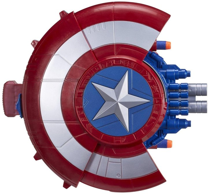 Marvel Movie Captain America Blaster Reveal Shield Costume