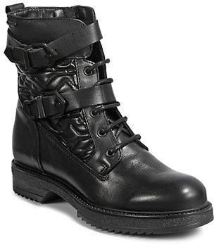 Bugatti Nica Leather Military Boots