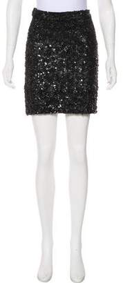 AllSaints Sequin Mini Skirt