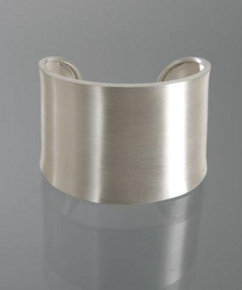 Argento Vivo matte sterling silver cuff