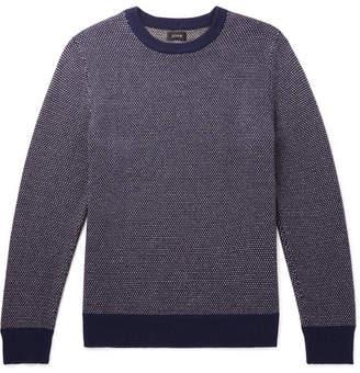 J.Crew Wool-Blend Sweater - Navy