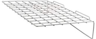 """Econoco - EWH/2314 - 24""""W x 14""""D White Wire Shelf for Slatwall - Sold in Pack of 6"""