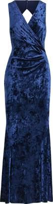 Ralph Lauren Velvet Open-Back Gown