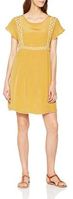 Berenice Women's MAEL Party Dress Yellow Amber, 8