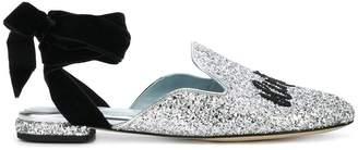 Chiara Ferragni Chiara Suite lace-up mules