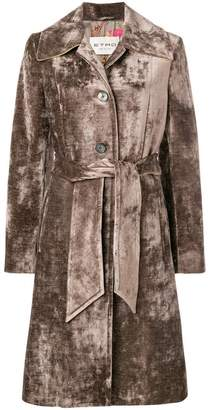 Etro belted midi coat