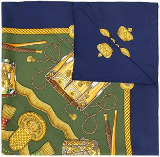Hermes Pre-Owned Les Tambours scarf